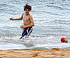 Picture of Shirtless Justin Bieber at the Beach in Sydney