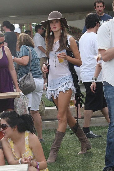 Chanel Iman, Alexander Wang, Agyness Deyn and More Take 2010 Coachella Festival By Storm