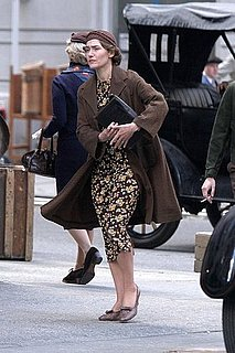 Pictures of Kate Winslet Filming Mildred Pierce