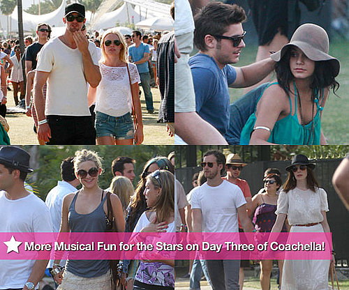 Pics: More Musical Fun for the Stars on Day Three of Coachella!