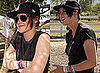 Photos of Kristen Stewart at Coachella Festival with Casual Updo 2010-04-19 02:00:31