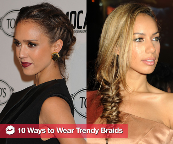 10 New Ways to Wear Trendy Braids