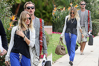Pictures of Sienna Miller and Jude Law Leaving Beverly Hills