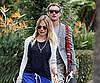 Slide Picture of Sienna Miller and Jude Law at Hotel in LA