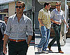 Pictures of Ryan Gosling Filming With Steve Carell in LA