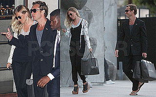 Pictures of Jude Law and Sienna Miller Together in LA