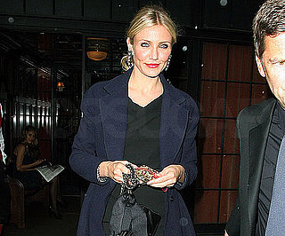 Slide Picture of Cameron Diaz Leaving Bowery Hotel in NYC