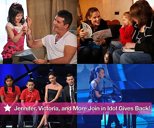 Pictures of Jennifer Garner, Victoria Beckham, Ellen DeGeneres, Ryan Seacrest and More On Idol Gives Back