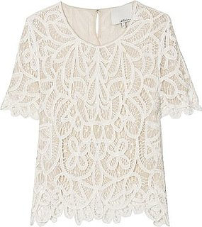 Phillip Lim Cropped Lace Top