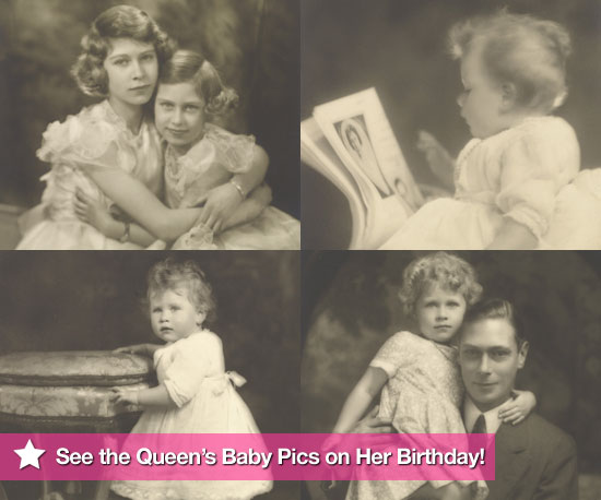 See Photos of Queen Elizabeth II as a Baby Family Pictures on Her 84th Birthday From Marcus Adams Royal Photographer Exhibition