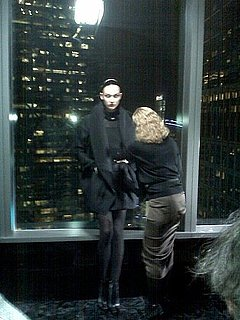 First Look: Karlie Kloss, Anna Jagodzinska Shoot Donna Karan Fall 2010 Campaign