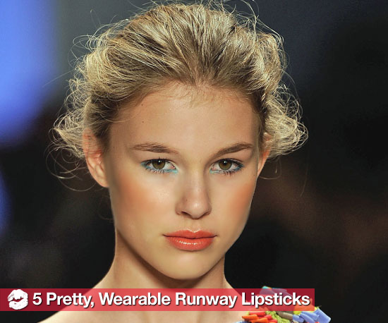 The 5 Prettiest, Easiest-to-Wear Lipsticks From the Runway