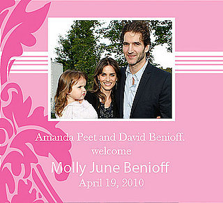 It's Another Girl For Amanda Peet!