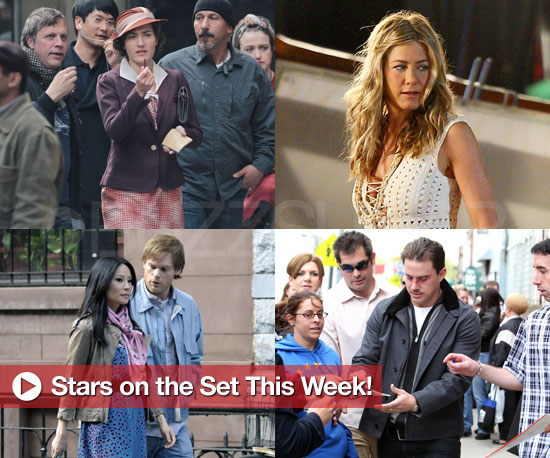 Jennifer Aniston, Kate Winslet, and More Stars on the Set!