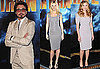 Pictures of Scarlett Johansson, Gwyneth Paltrow, and Robert Downey Jr. at Iron Man 2 Photo Call 2010-04-23 15:00:00
