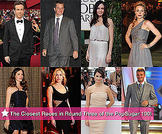 The Closest Races in Round Three of the PopSugar 100!