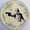 Star Wars Antique Plates from Etsy