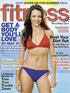 Kristin Davis on the Cover of Fitness Magazine