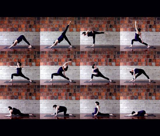 What's Your favorite Yoga Pose From This Sequence?