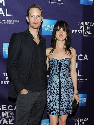Alex at the premiere of Metropia at the Tribeca Film Festival