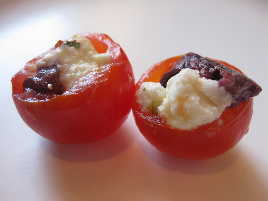 Bite-Sized Stuffed Tomatoes