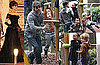 Pictures of Brad Pitt With Kids Maddox, Pas, Zahara And Shiloh in Venice; Angelina Jolie Filming The Tourist