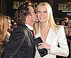 Slide Picture of Gwyneth Paltrow and Robert Downey Jr at Iron Man 2 Premiere