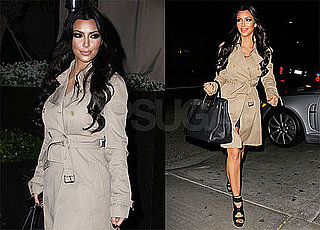 Pictures of Kim Kardashian Leaving Dinner With Lance Bass in LA