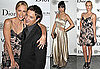 Pictures of Charlize Theron and Jeremy Renner with Nicole Richie at Africa Outreach Dinner