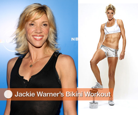 A Beach Body Workout From Jackie Warner