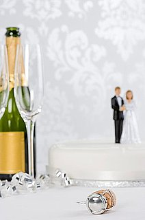 What's a More Critical Splurge: Wedding Cake or Champagne?