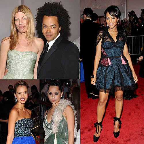 Thakoon, Gap Dress Jessica Alba, Kerry Washington, Zoe Kravitz, and Kirsten Dunst For 2010 Costume Institute Met Gala 2010-04-29 11:10:22