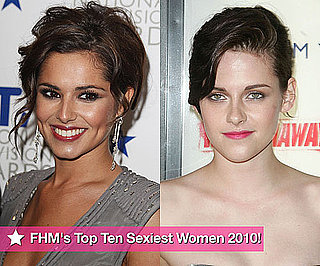 Photos of FHM's Sexiest Women in the World 2010 Top Ten Including Kristen Stewart, Cheryl Cole, Megan Fox