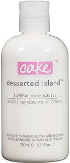Giveaway For Cake Beauty Desserted Island Supreme Body Mousse
