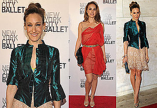 Pictures of Sarah Jessica Parker and Natalie Portman At the NYC Ballet 2010-05-01 07:00:00