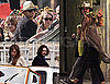 Pictures of Johnny Depp With Vanessa Paradis, Jack Depp, and Lily-Rose Depp in Venice; Filming The Tourist With Angelina Jolie
