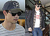 Photos of Robert Pattinson and Taylor Lautner at LAX