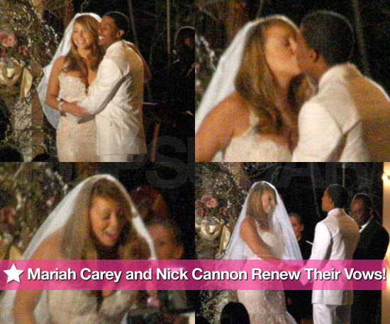 Pics: See Mariah Carey and Nick Cannon Renew Their Wedding Vows!