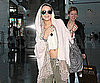 Slide Picture of Lindsay Lohan Departing Out of NYC