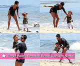 Pictures of Halle Berry After Breakup From Gabriel Aubry at the Beach With Nahla Aubry