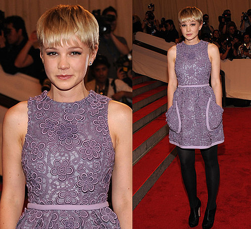 Carey Mulligan in Miu Miu at 2010 Costume Institute Gala