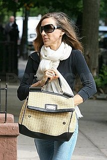 Pictures of Sarah Jessica Parker Bringing Son James Wilkie to School in NYC 2010-05-04 10:00:00