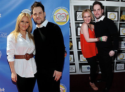 Pictures of Hilary Duff and Mike Comrie at the George Lopez Golf Classic 2010-05-04 22:00:40