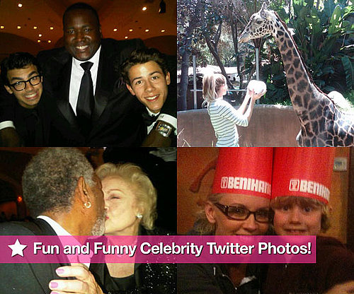 Fun and Funny Celebrity Twitter Photos of Jenny McCarthy, Lauren Conrad, Kim Kardashian, Betty White, and More!