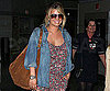 Slide Picture of Jessica Simpson at JFK