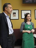 "At another of our cupping sessions, CEO Howard Schultz popped in to say hello. ""Not unlike wine, the more you spend time learning about coffee, the more you realize you don't know,"" he remarked."