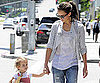 Slide Picture of Jessica Alba and Honor at Urth Cafe
