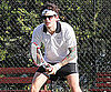 Slide Picture of John Mayer Playing Tennis in Australia
