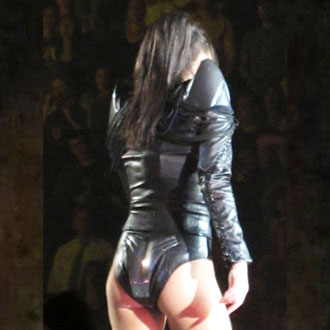Celebrities With Bum Hanging Out on Stage Risque Tour Costumes Guessing Game