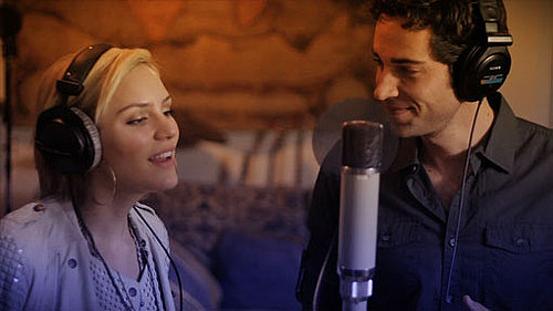 Video of Zachary Levi Singing a Duet With Katharine McPhee